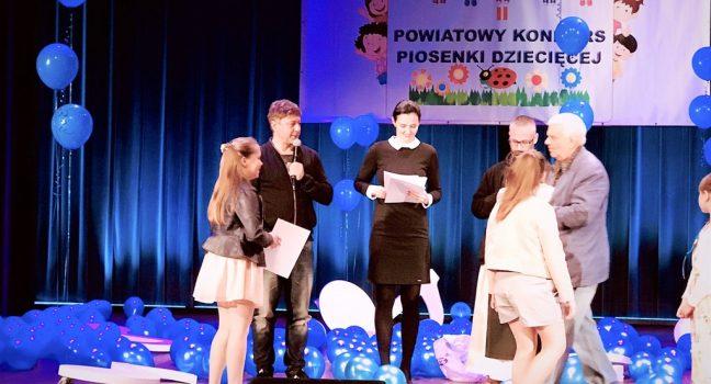 Powiatowy Konkurs Piosenki Dziecięcejw Jędrzejowie
