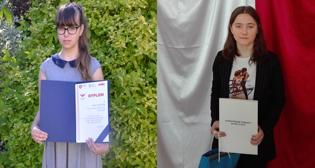 """Sukcesy uczennic naszej szkoły w powiatowym konkursie """"Żołnierze Wyklęci"""""""