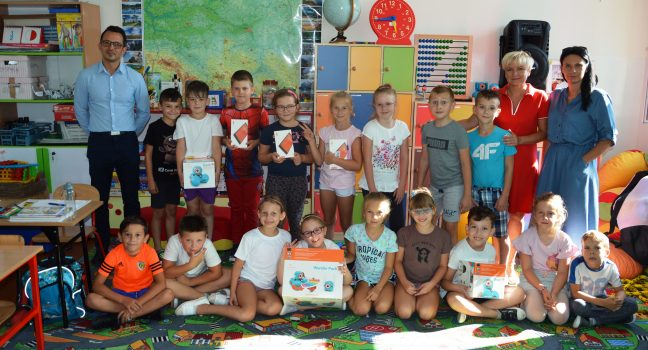 Najsympatyczniejsza klasa w województwie świętokrzyskim nareszcie odebrała nagrody.